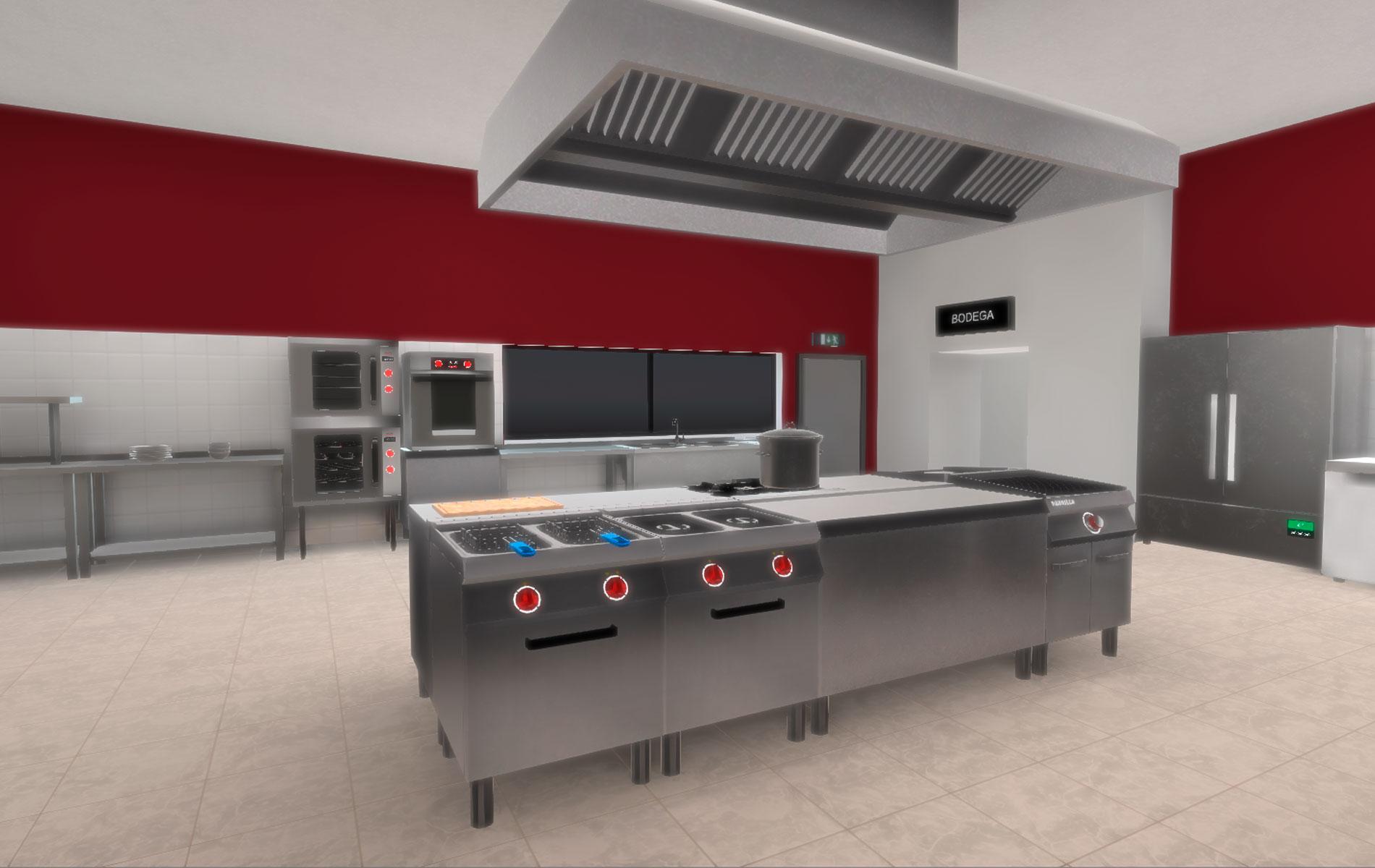 Simulador de cocina